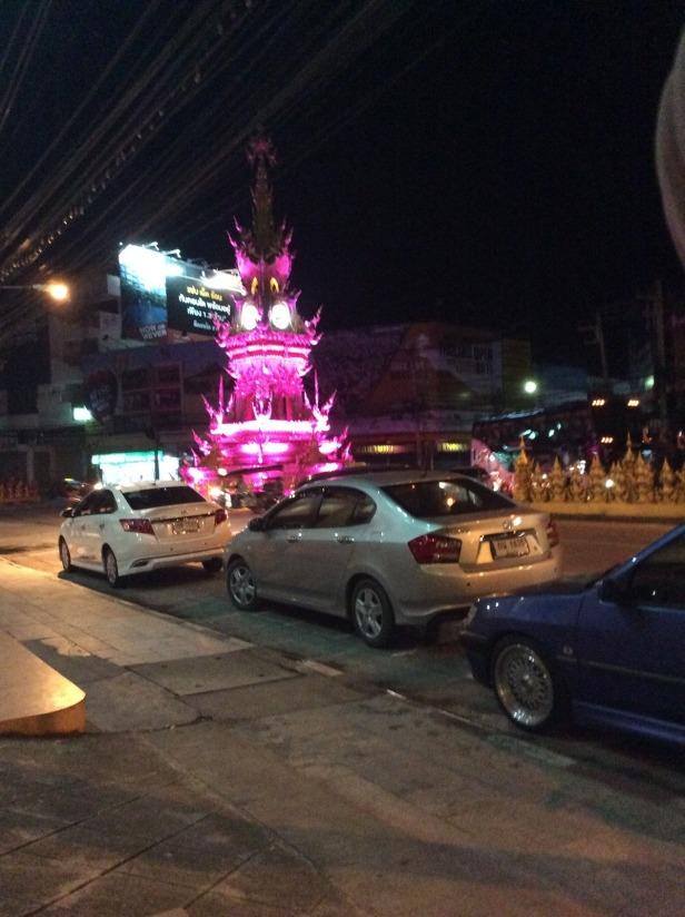 7506267-Pink_Clock_tower_Chiang_Rai_Chiang_Rai