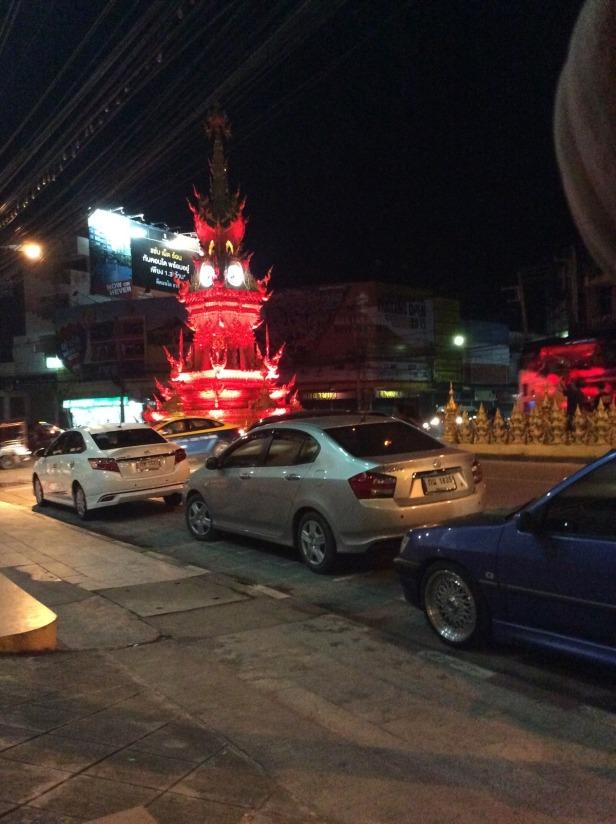 7506269-Red_Clock_tower_Chiang_Rai_Chiang_Rai
